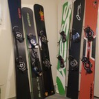 Boards in der Ecke